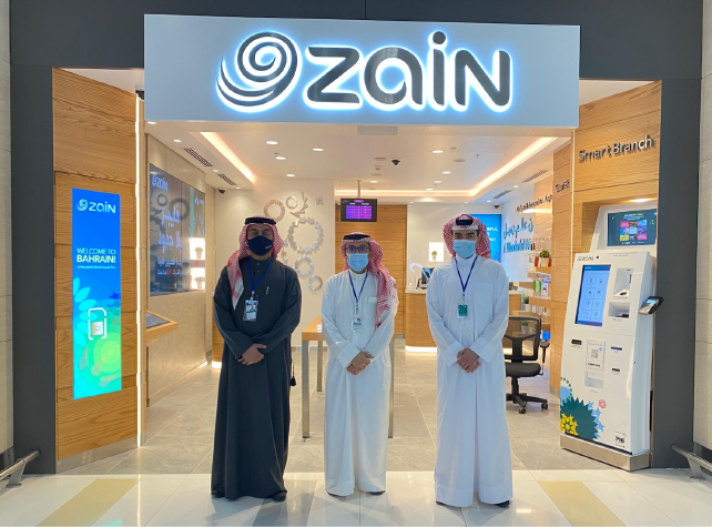 Zain Bahrain opens new shop at the new Bahrain International Airport Terminal