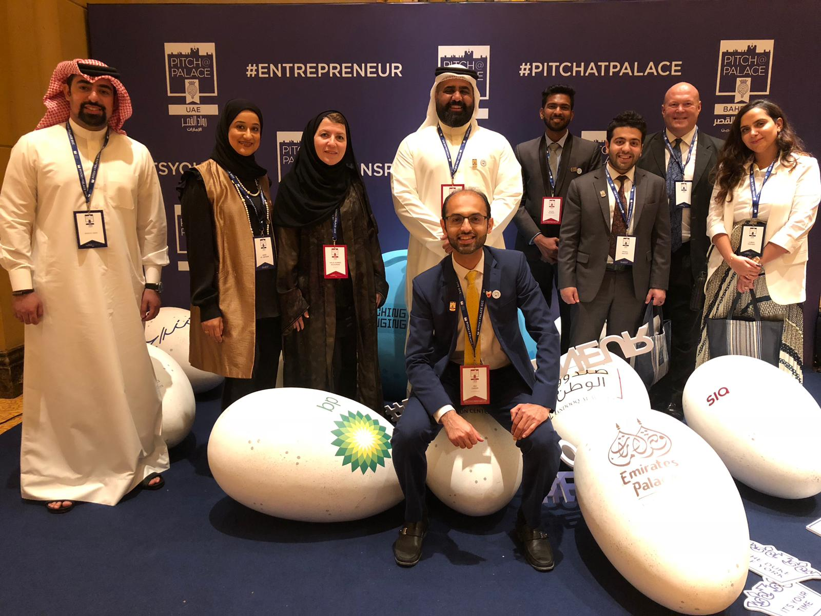 Bahraini startups Alrawi and ONEGCC secure the top positions in the Pitch@Palace 1.0 competition