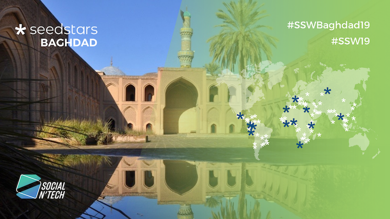 Around 20 startups battle it out in Baghdad for a chance to represent Iraq in Seedstars Summit