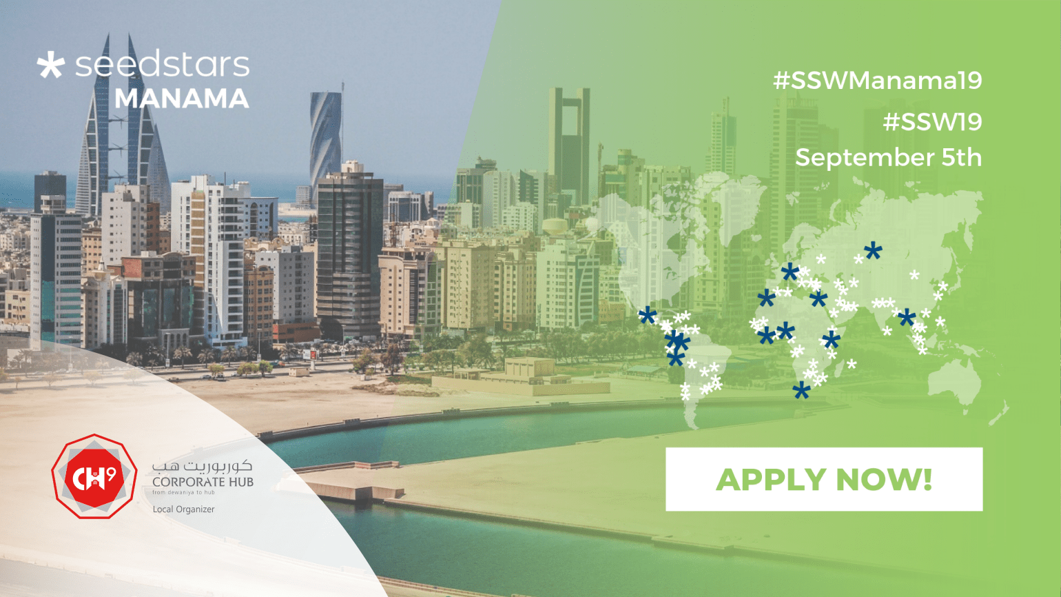 Mark your calendar, Seedstars Manama is all set to make a grand comeback in less than 2 weeks