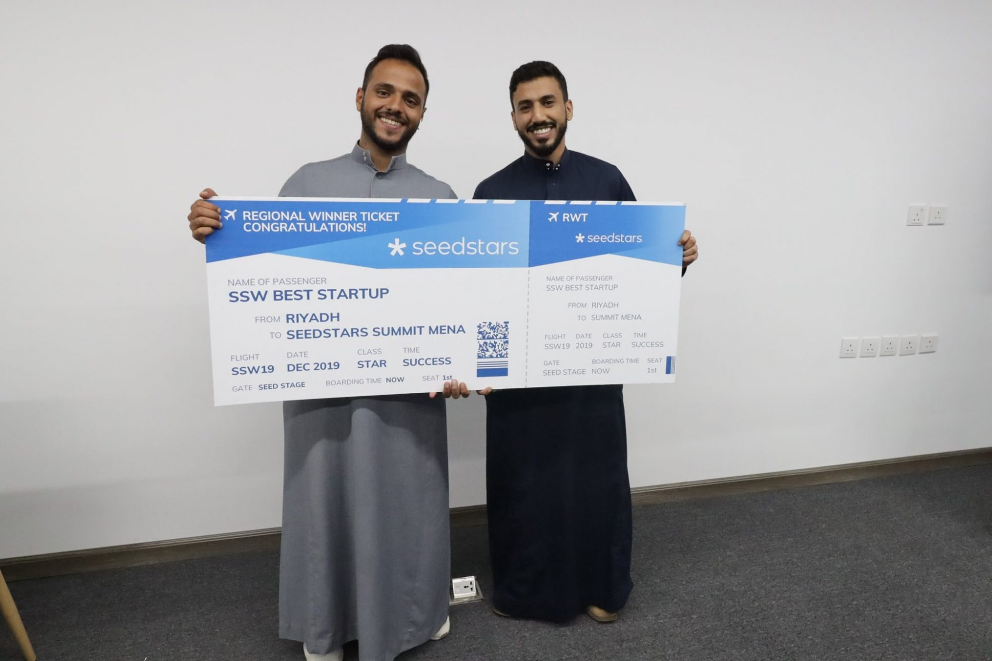 Seedstars Riyadh 2019 announces winners of the iconic pitch competition