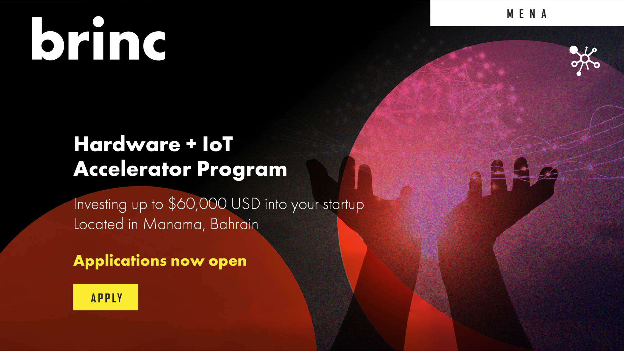 Brinc Batelco is now accepting applications for next cohort
